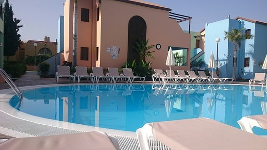 A great place to stay. Lovely apartment great pool. Friendly staff.
