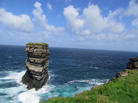 Ballycastle, Irland: Downpatrick head