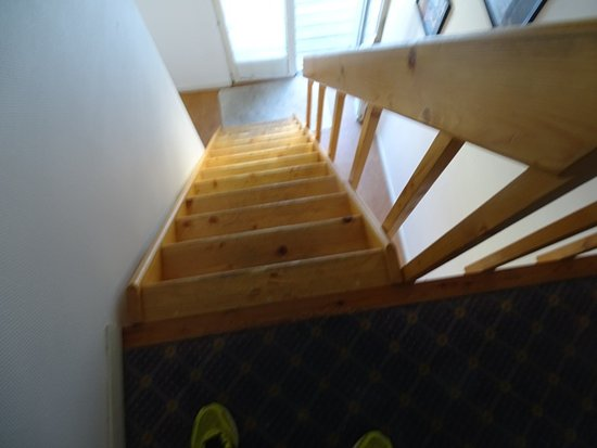 Be Cottage : accès chambre !