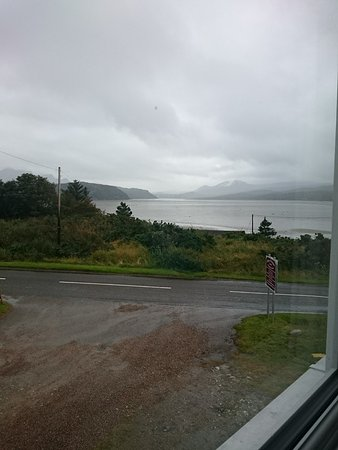 Tongue, UK: View from our room.