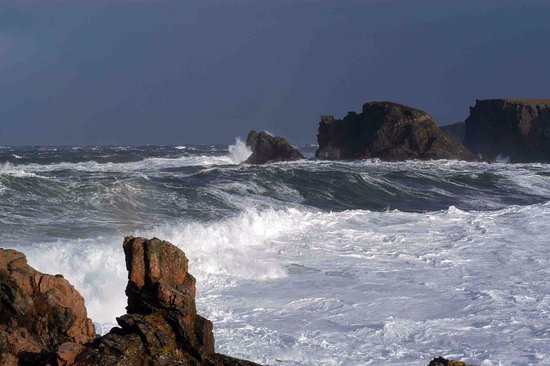 Bettyhill, UK: Farr Bay - popular with surfers