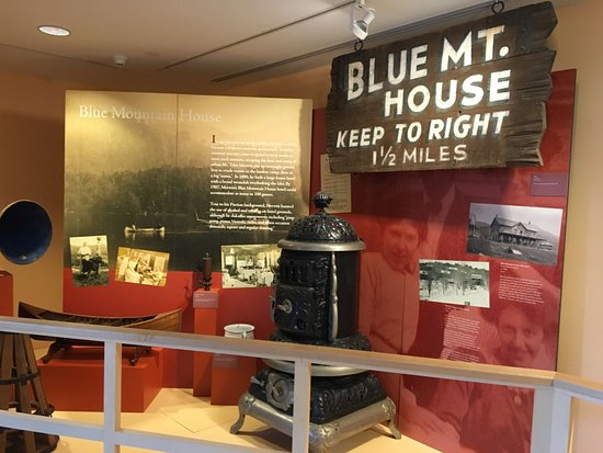 Blue Mountain Lake, estado de Nueva York: Adirondack Museum - exhibits (2)