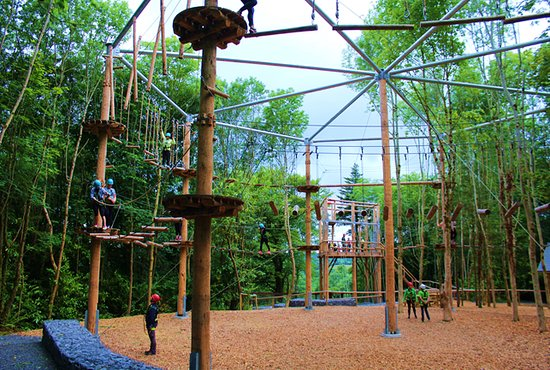Castlecomer, Irland: The Octagon High Ropes Course