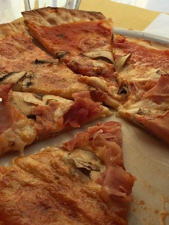 Province of Pisa, İtalya: Klasse Glutenfreie Pizza