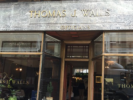 Thomas J Walls Coffee Edinburgh Old Town Restaurant