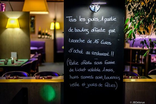 Tinqueux, Francia: bowling offert
