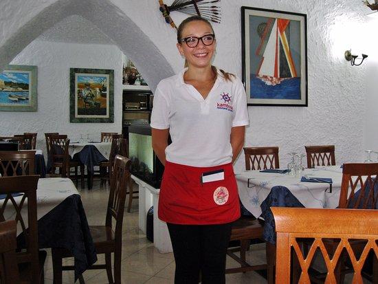 Ristorante Pizzeria Kambusa: Francesca - una collaboratrice del ristorante