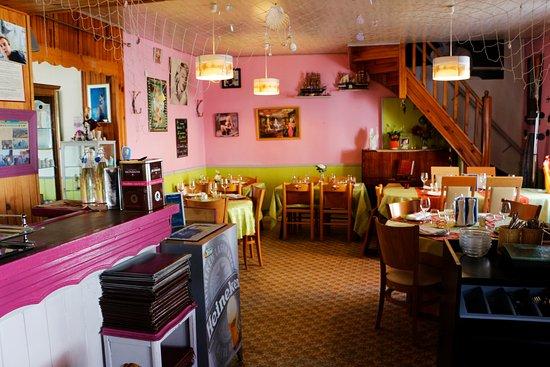 Chez Mimi : intérieur du restaurant