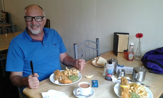 Corwen, UK: A filling lunch for two