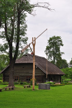 Jekabpils, Λεττονία: Колодец