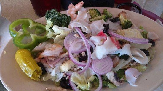 Kirksville, MO: Seafood salad