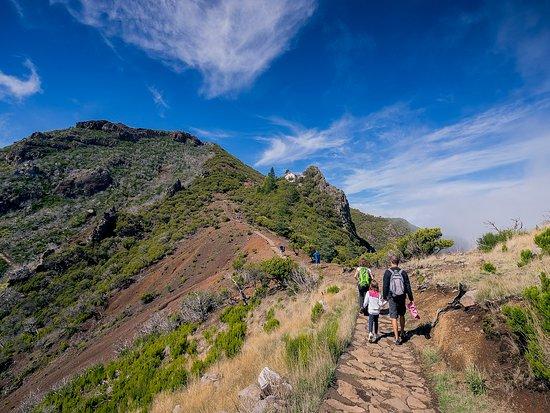 Madère, Portugal : Madeira walk Pico Ruivo