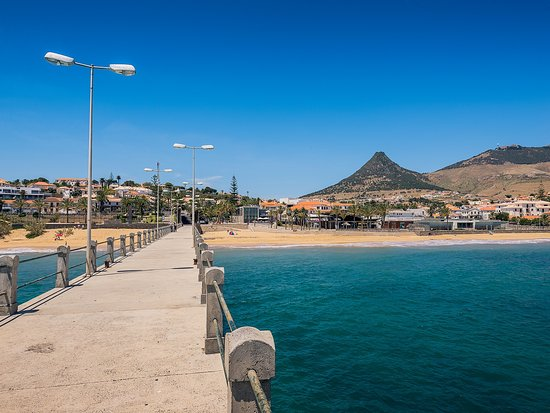 Madère, Portugal : Porto Santo Bridge