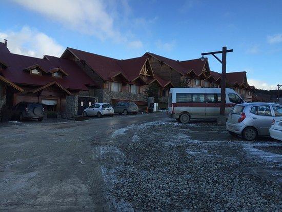Los Cauquenes Resort & Spa: Vista de frente do Los Cauquenes