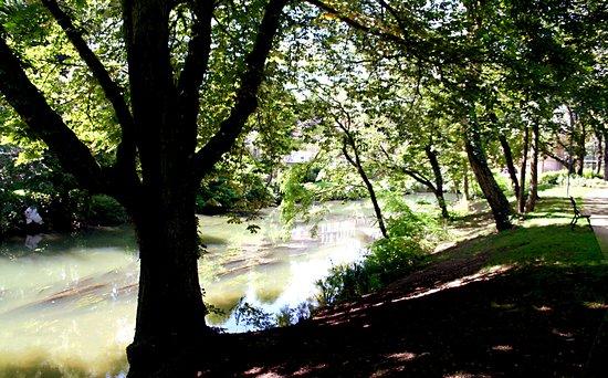 Parc de l'ile du Vieux Moulin
