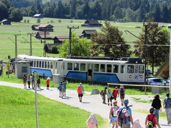 Alpspitz: Zugspitz'den gelen tren