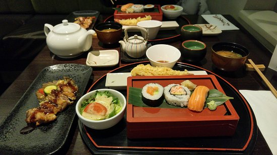 bento lunch picture of katsura japanese cuisine auckland central tripadvisor. Black Bedroom Furniture Sets. Home Design Ideas