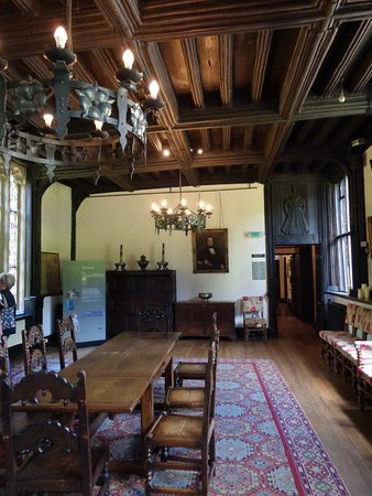 Samlesbury, UK: The great hall