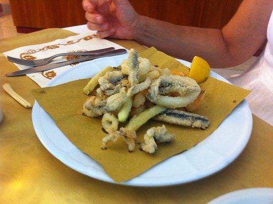 Villa Maria : Già parzialmente mangiato...