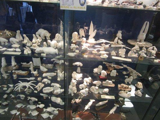 Alaska Shop Whale Bone Carvings Picture Of Alaska Shop Seward Tripadvisor