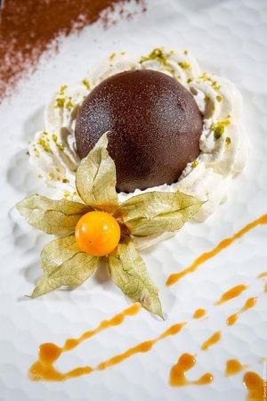 Restaurant Punta Lara: Dessert au chocolat
