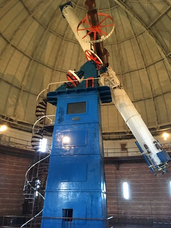 Williams Bay, WI: Yerkes refracting telescope
