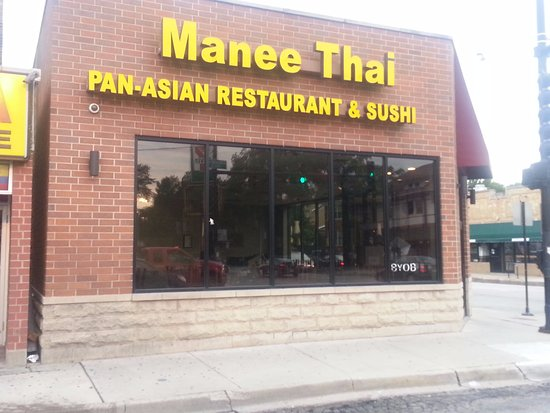 Manee Thai Restaurant Front On Ski Rd At Addison St To