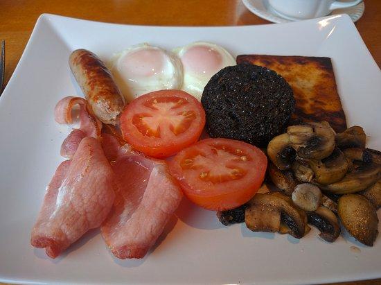 Tain, UK: Full Scottish Breakfast!