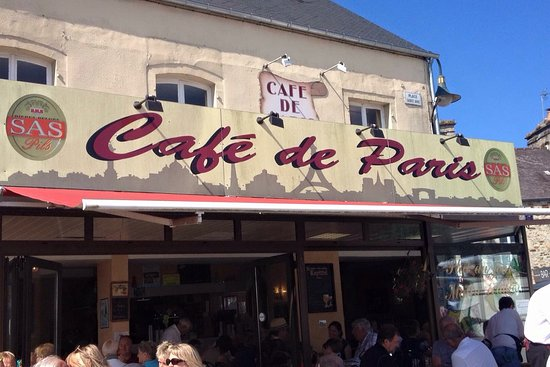 Bricquebec, France : Café de Paris