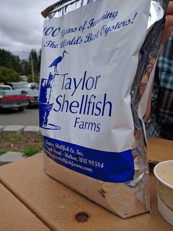 Shelton, WA: Sweet bag to keep things fresh on the drive home