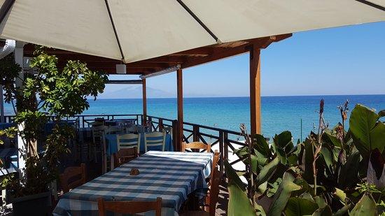 Amazing location on a fantastic beach