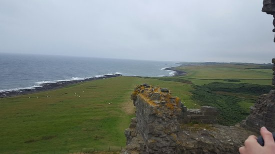 Craster, UK: Dunstanburgh Castle