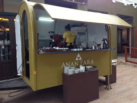 Sikao, Thailand: cool coffee cart