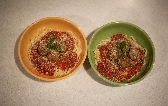 Galax, VA: Spaghetti and Meatballs