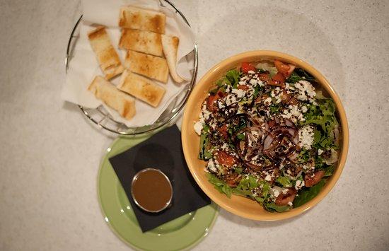 Galax, VA: Gorgonzola Pecan Salad