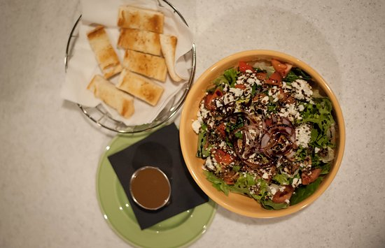 Galax, Вирджиния: Gorgonzola Pecan Salad