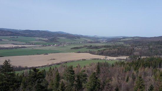 Krnov, Tsjechië: Výhled z rozhledny