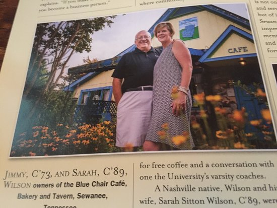 Sewanee, TN: The Blue Chair Cafe Bakery & Tavern