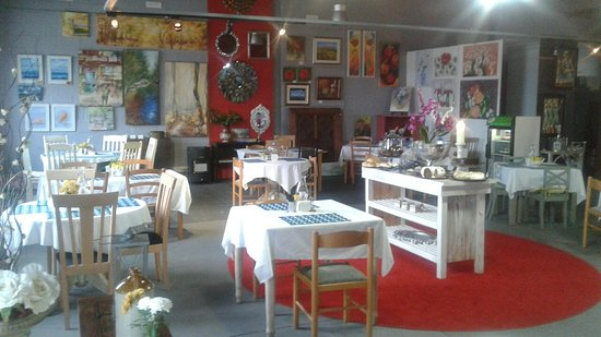 Kleinmond, แอฟริกาใต้: Art Cafe