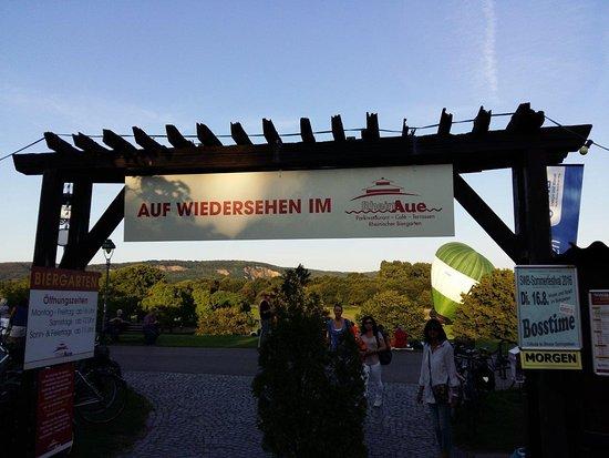 We Were At The Biergarten Section Review Of Parkrestaurant Rheinaue Bonn Germany Tripadvisor