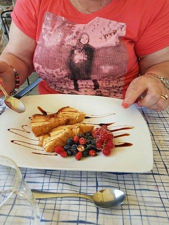 Roccaforte Mondovi, Italien: cibo genuino
