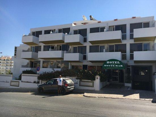 Montemar: Hotel entrance