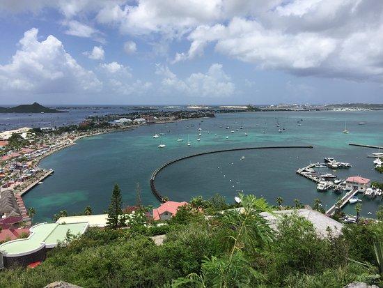 Marigot, St. Maarten/St. Martin: View of the Harbor/Marina