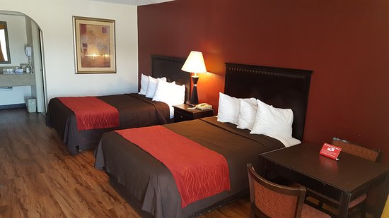 Red Roof Inn & Suites Oxford: Deluxe Double