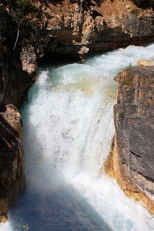 Kootenay National Park, Kanada: la cascade