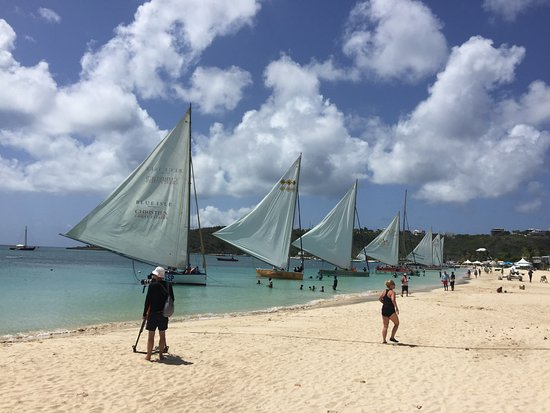 The Valley, Anguilla: Sailboats