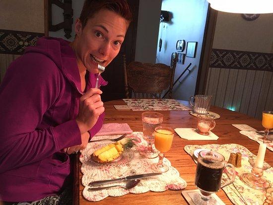 Ida-Home B&B: Breakfast