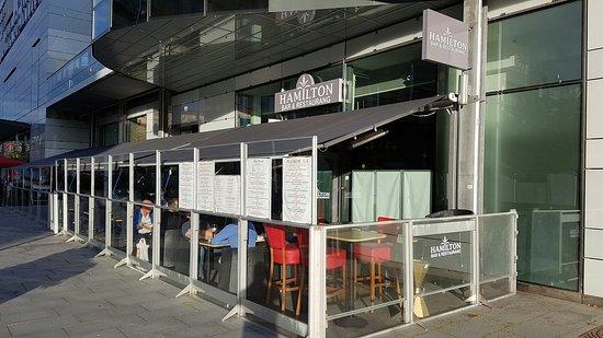 Sollentuna, Sverige: Restaurang Hamilton Bar&Restaurang
