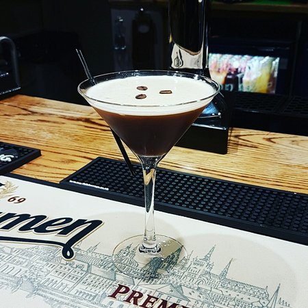 Hartshorne, UK: Espresso Martini cocktail.