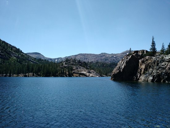 Lee Vining, Kalifornien: Ellery Lake looking west